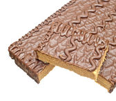 Wafer cake with chocolate. — Stock Photo