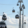 Thames Cable Car - 图库照片