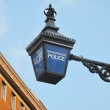 Metropolitan Police Light — Stock Photo