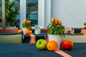 Restaurant dekoration — Stock Photo