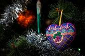 Ano novo brinquedo — Fotografia Stock