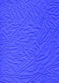 Modrý hadřík - lněné tkaniny materiálových textur - pozadí — Stock fotografie