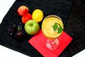 Mango Smoothie Refreshing Cocktail — Stock Photo
