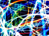 Dynamic Abstract Colorful and Vivid Blurry Background — Stock Photo