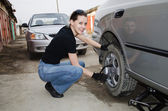 Car repairs — Stock Photo