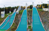 Ski jumping hill 4 — Stock Photo
