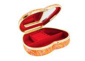 Caixão para jóias em forma de coração — Foto Stock