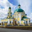 Russian orthodox church in honour of sacred Nikolay Chudotvortsa — Stock Photo