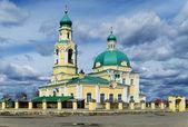 Rosyjski kościół prawosławny na cześć świętej nikołaj chudotvortsa — Zdjęcie stockowe