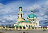 Russian orthodox church in honour of sacred Nikolay Chudotvortsa — Stock Photo