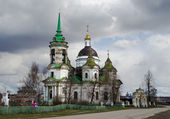 Nikolsky church in village Byngi, Sverdlovsk area, Russia — Stock Photo