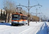 City tram — Stock Photo