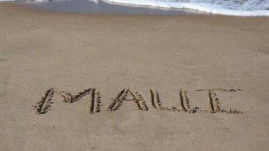Paradise Beach Vacation in Maui, Hawaii — Stock Video