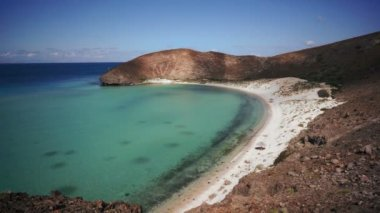 Ocean Bay Scenic High Angle — Stock Video