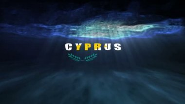 Underwater Cyprus — Stock Video