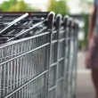 Pulling Out Shopping Cart — Stock Video