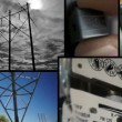 Stock Video: Electrical Energy Collage