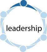 Leadership People Circle Concept — Stock Photo