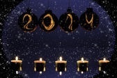 2014 new year card — Stock Photo