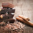Chocolate pieces — Stock Photo #13253991