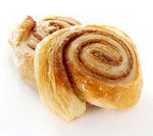 Cinnamon danish bun — Stock Photo