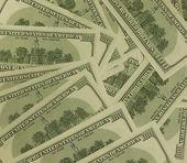 Pile of dollars — Stock Photo
