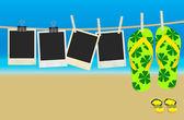 Summer Memories — Stock Vector