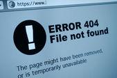 Erreur 404 — Photo