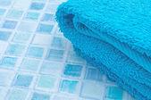Towels in Bathroom — Stock Photo