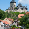 Stock Photo: Karlstejn castle, Czech Republic