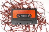 Cinta de cassette de audio retro — Foto de Stock