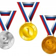 Medals — Stock Vector #37931793