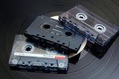 音频盒式磁带 — 图库照片