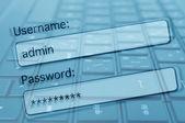 インターネット セキュリティの概念 — ストック写真