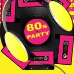 Retro Party Background — Stock Vector #5905717