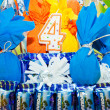 Stock Photo: colorful birthday cake