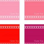 Valentine's Day background — Stock Vector #19613311
