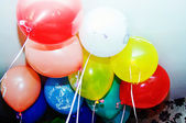 Colorful funny balloons. — Stock Photo