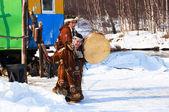 Aborígenes de los russsia del norte — Foto de Stock