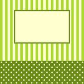 Congratulatory card or the invitation — Stock Vector