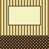 Holiday card — Stock Vector