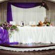 Beautiful wedding table — Stock Photo #36482093