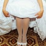 Image of beautiful bride — Stock Photo