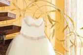 White Wedding dress — Stock Photo