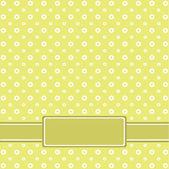 Vektor omantic blomma bakgrund — Vector de stock