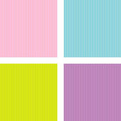 Set of four different pattern — Stock Vector