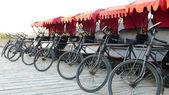 Rickshaws — Stock Photo