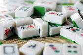 Chinese mahjong tiles — Stock Photo