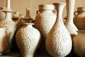 Raw vase and jug — Stock Photo