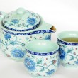 Chinese pottery teaset — Photo #13703793